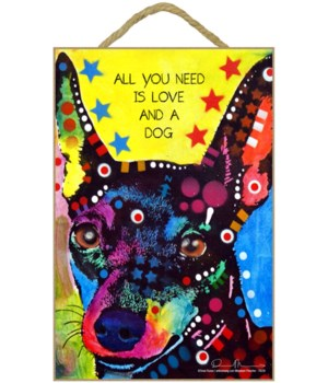 Miniature Pinscher - All you need 7x10 R