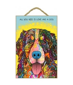 Bernese - All you need is love 7x10 Russ
