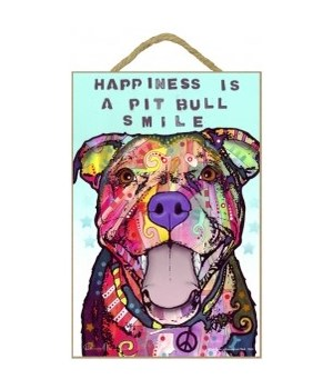 Pitbull - Happiness is a pitbull smile 7