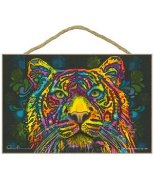 Tiger face (H) DR 7x10.5