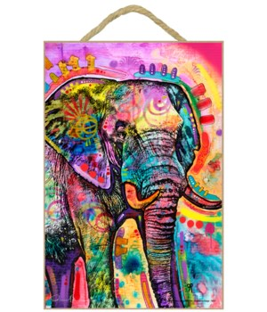 Elephant in Charge (V)   DR 7x10.5