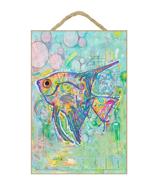 Angel Fish (V)  Dean Russo 7x10.5