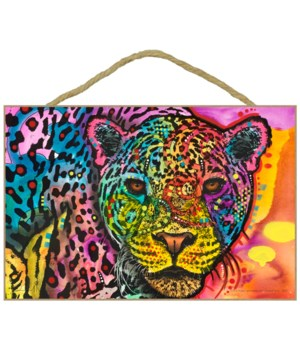 Leopard face (horizontal) (H)  DR 7x10.5