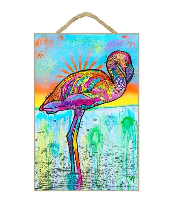 Pink Flamingo (V)   DR 7x10.5