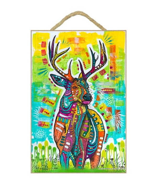 Deer (V)  (Whitetail Buck) DR 7x10.5