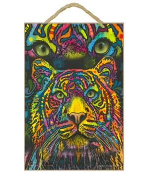 Tiger (w/ tiger eyes at the top)  (V) DR