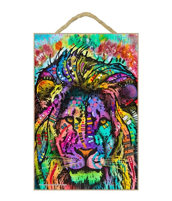 Lion-King of the Jungle (V)  DR 7x10.5