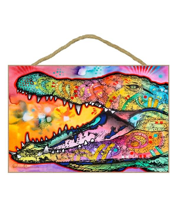 Alligator  (H) Dean Russo 7x10.5