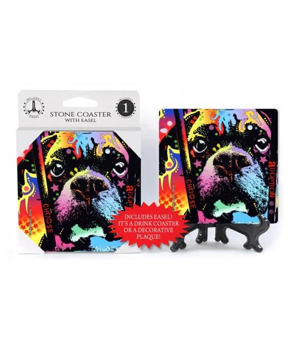 Boxer - 2 - Choose adoption  coaster 1-p