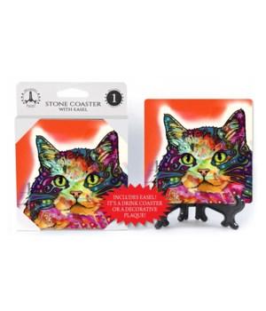 Cat - Ragamuffin  coaster 1-pack