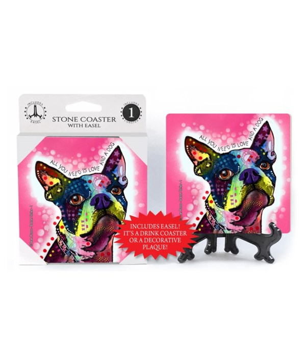 Boston Terrier - 1 - All you need is lov