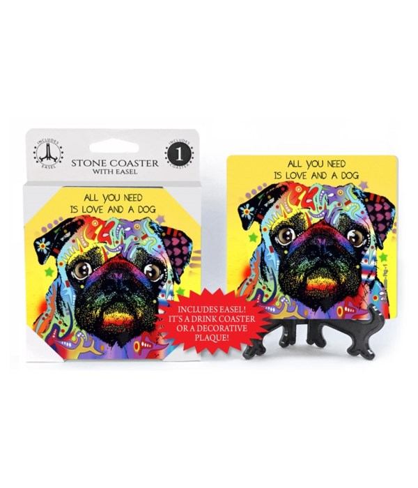 Pug - 1 - All you need is love and a dog