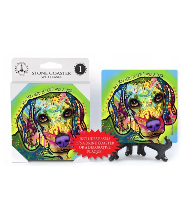Beagle - All you need is love and a dog
