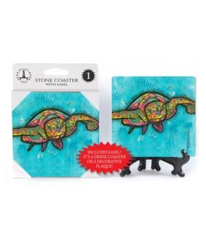 Sea Turtle - Dean Russo Coaster