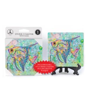 Angel Fish - Dean Russo Coaster