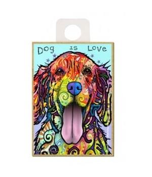 Golden Retriever - Dog is love Magnet