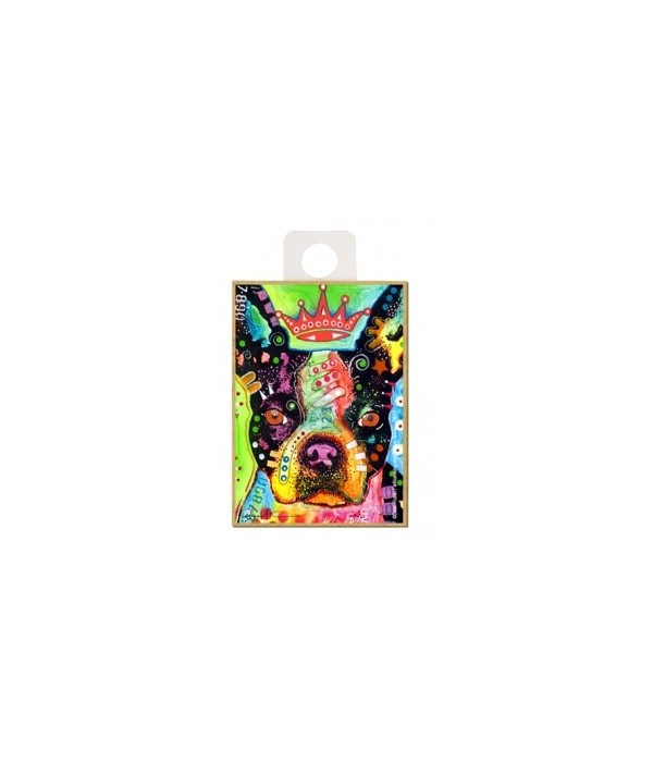 Boston Terrier - Crowned Magnet
