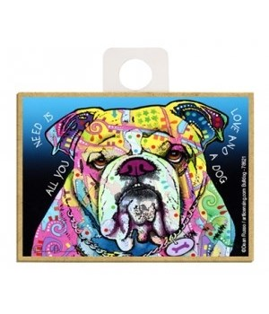 Bulldog - All you need is love and a dog