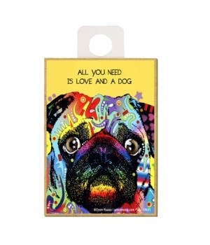 Pug - All you need is love and a dog Mag