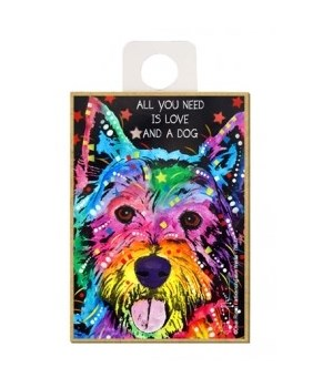 Westie - All you need is love and a dog