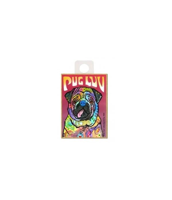 Pug - Pug luv Magnet