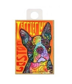 Boston Terrier - Boston Terrier Luv Magn