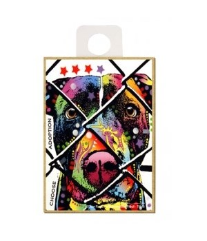 Pitbull - Choose adoption Magnet