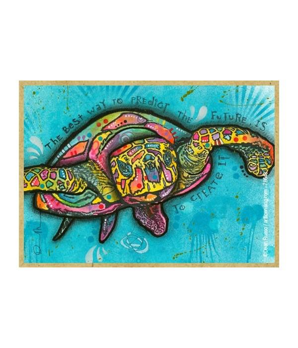 Sea Turtle  (H)  Dean Russo Magnet