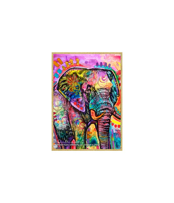 Elephant in Charge (V) Dean Russo Magnet
