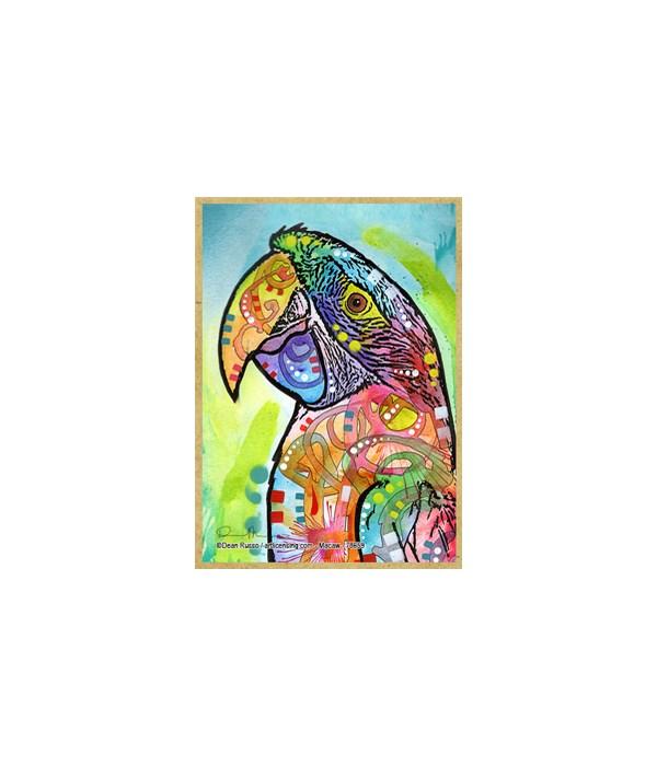Macaw  (V) Dean Russo Magnet
