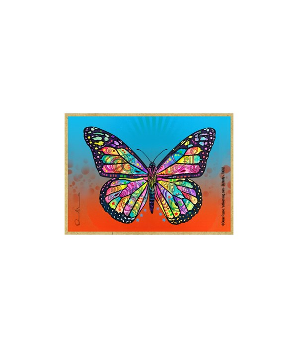Butterfly  (H) Dean Russo Magnet