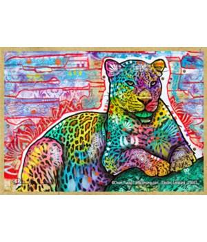 Electric Leopard (H)  Dean Russo Magnet