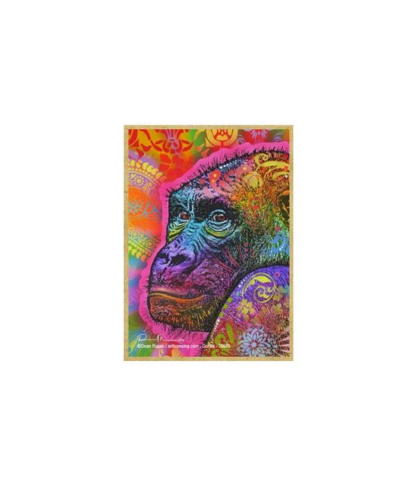 Gorilla  (V)  Dean Russo Magnet