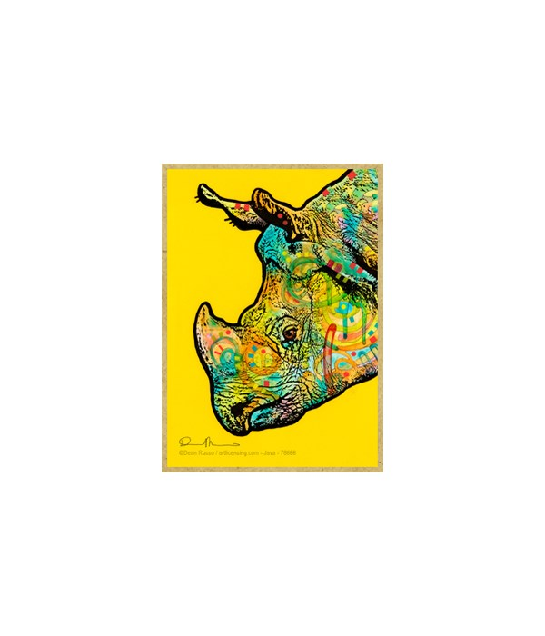 Rhino (V)  Dean Russo Magnet