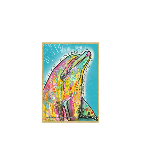 Dolphin  (V) Dean Russo Magnet