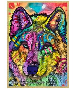 Wolf  (V) Dean Russo Magnet
