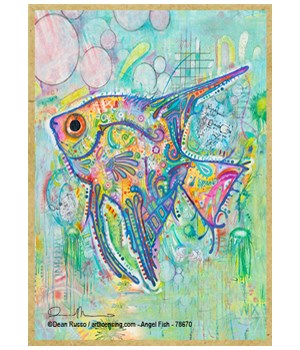 Angel Fish (V)  Dean Russo Magnet