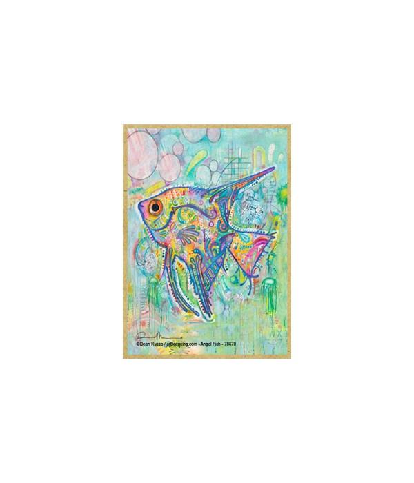 Angel Fish (V)  Dean Russo Magnet