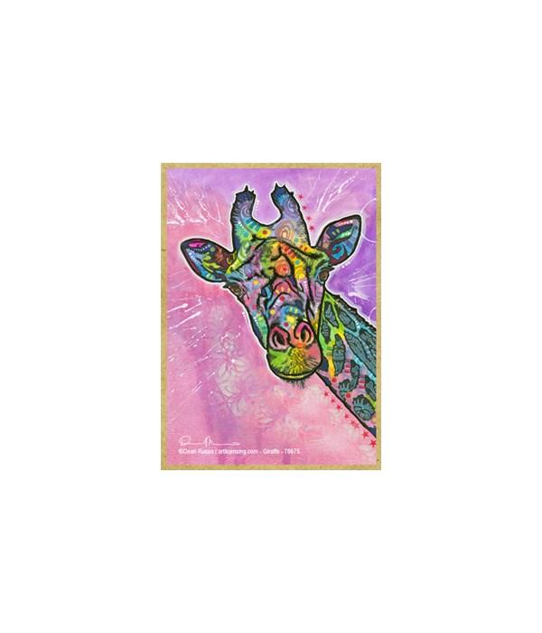 Giraffe  (V)  Dean Russo Magnet