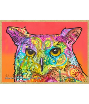 Red Owl  (H)  Dean Russo Magnet