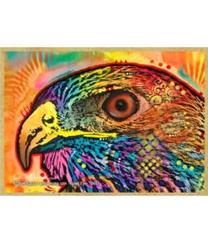 Hawk eye (H)   Dean Russo Magnet