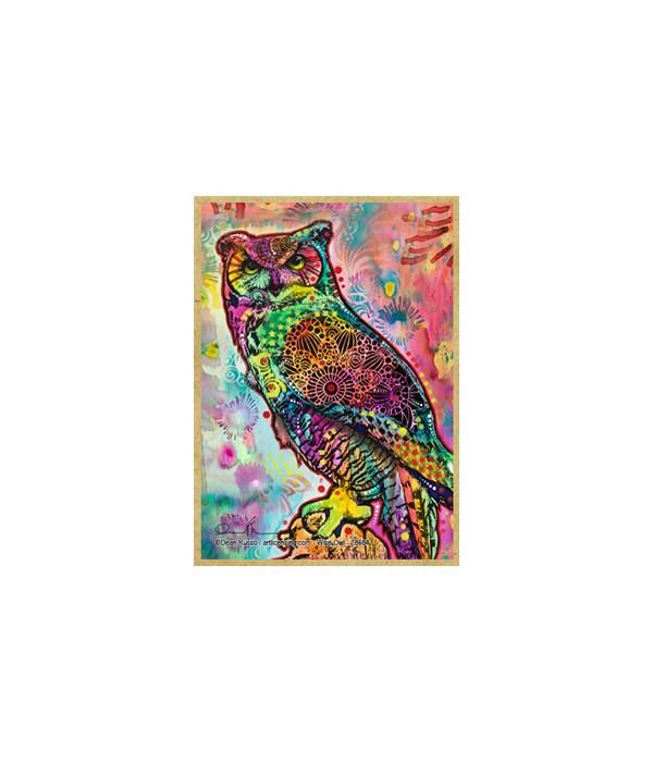 Wise Owl  (V)  Dean Russo Magnet