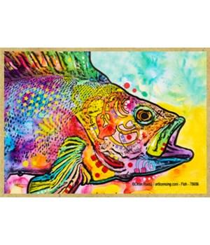 Fish  (H)  Dean Russo Magnet