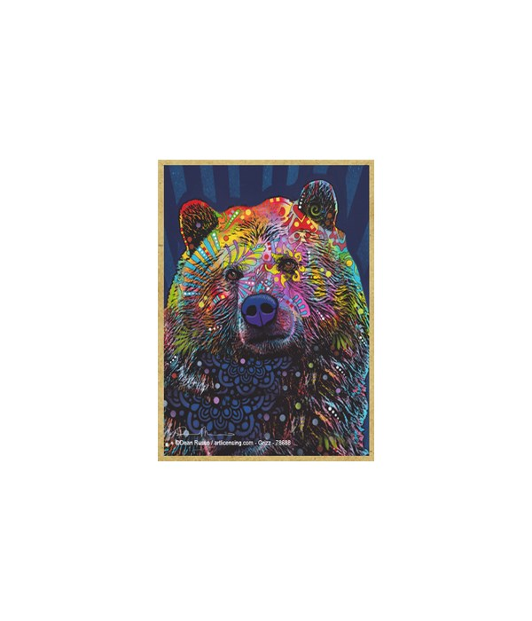 Grizzly Bear (V)  Dean Russo Magnet