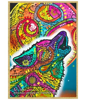 Howling Wolf (V) Dean Russo Magnet