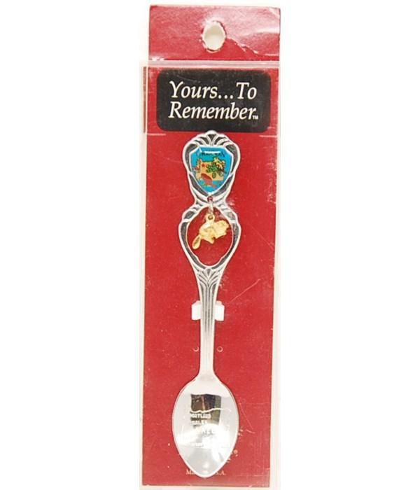 *Oregon Demi Spoon w/Beaver Dangle