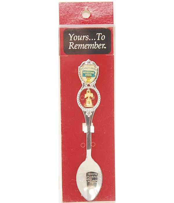 *Pennsylvania Demi Spoon w/Bell Dangle