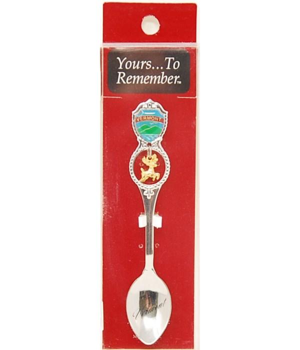 *Vermont Demi Spoon w/Moose Dangle