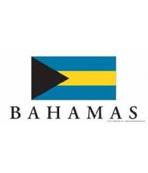 Bahamas 4x8 Car Magnet