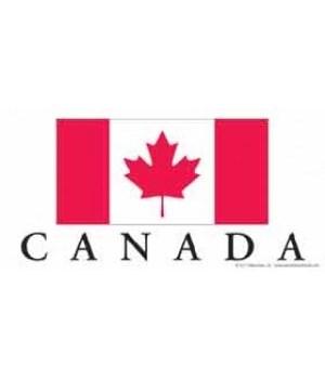 Canada 4x8 Car Magnet